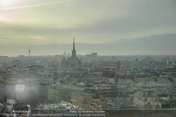 Österreichischer Filmpreis Nominierten Bekanntgabe - Ringturm Wien - Do 06.12.2018 - Blick über Wien Richtung Stephansdom4