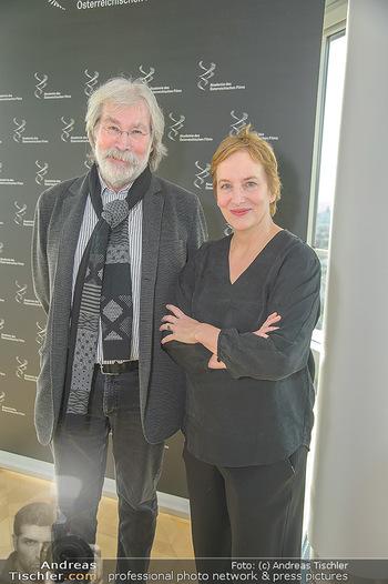 Österreichischer Filmpreis Nominierten Bekanntgabe - Ringturm Wien - Do 06.12.2018 - Georg RIHA, Marlene ROPAC12