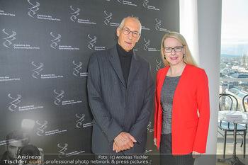 Österreichischer Filmpreis Nominierten Bekanntgabe - Ringturm Wien - Do 06.12.2018 - Josef AICHHOLZER, Margarete SCHRAMBÖCK15