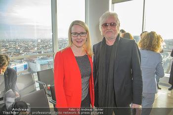 Österreichischer Filmpreis Nominierten Bekanntgabe - Ringturm Wien - Do 06.12.2018 - Reinhold BILGERI, Margarete SCHRAMBÖCK16