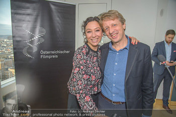 Österreichischer Filmpreis Nominierten Bekanntgabe - Ringturm Wien - Do 06.12.2018 - Ursula STRAUSS, Michael STURMINGER29