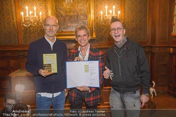 Goldenes Buch für Thomas Brezina - Hauptverband des Österreichischen Buchhandels - Di 11.12.2018 - 14