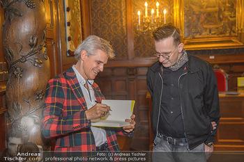 Goldenes Buch für Thomas Brezina - Hauptverband des Österreichischen Buchhandels - Di 11.12.2018 - Thomas BREZINA, Gerald HÖRHAN21