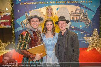 Weihnachtsball für Kinder - Hofburg - Mi 12.12.2018 - Gernot KRANNER mit Bruder Reinwald, Conny MOOSWALDER34