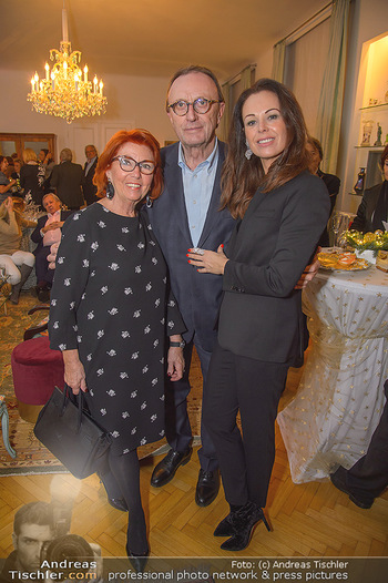 Marika Lichter X-Mas Cocktail - Privatwohnung Lichter - Mi 12.12.2018 - Petra und Hans SCHMID, Inge KLINGOHR4
