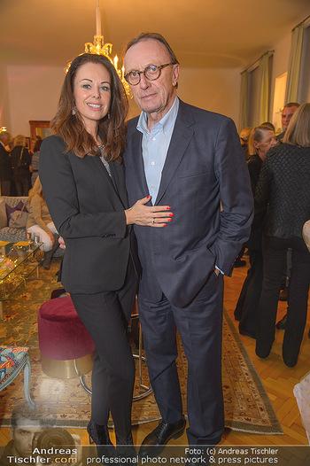 Marika Lichter X-Mas Cocktail - Privatwohnung Lichter - Mi 12.12.2018 - Petra und Hans SCHMID5