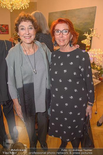 Marika Lichter X-Mas Cocktail - Privatwohnung Lichter - Mi 12.12.2018 - Helene VAN DAMM, Inge KLINGOHR6