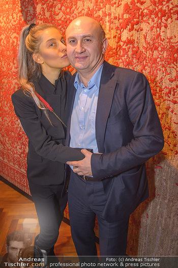 Ali Rahimi Adventempfang - Palais Szechenyi - Mi 12.12.2018 - Ali RAHIMI mit Carina PIRNGRUBER19
