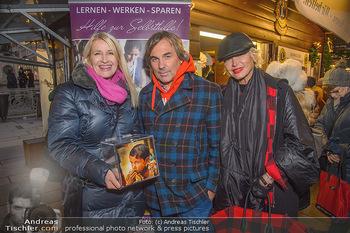 ZuKi Punsch Charity - Am Graben, Wien - Do 13.12.2018 - Claudia STÖCKL, Hubertus HOHENLOHE, Simona GANDOLFI1