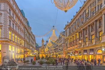 ZuKi Punsch Charity - Am Graben, Wien - Do 13.12.2018 - Advent Weihnachtsbeleuchtung Am Graben Wien Weihnachten7