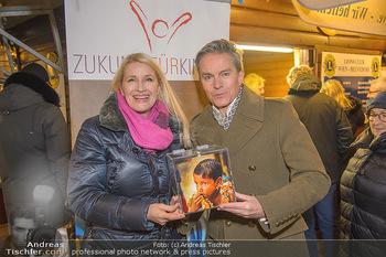 ZuKi Punsch Charity - Am Graben, Wien - Do 13.12.2018 - Claudia STÖCKL, Alfons HAIDER8