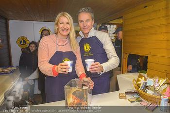 ZuKi Punsch Charity - Am Graben, Wien - Do 13.12.2018 - Claudia STÖCKL, Alfons HAIDER12