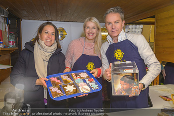 ZuKi Punsch Charity - Am Graben, Wien - Do 13.12.2018 - Claudia STÖCKL, Alfons HAIDER, Katharina MAHR14