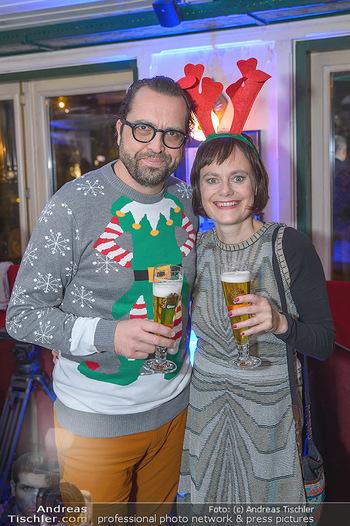 Grassmugg Weihnachtsfeier - Purzel´s, Wien - Di 18.12.2018 - Martin FLEISCHHACKER, Nina BLUM25