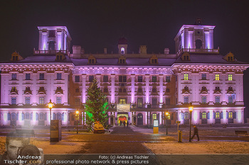 Fototermin Esterhazy - Eisenstadt Schloss Esterhazy - Do 20.12.2018 - Weihnachtlich beleuchtetes Schloss Esterhazy mit Christbaum3