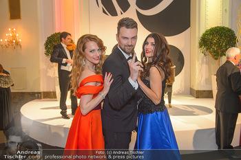 Silvesterball - Hofburg Wien - Mo 31.12.2018 - Monika BALLWEIN, Natalie ALISON, Niko ZIVANOVIC1