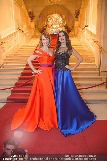 Silvesterball - Hofburg Wien - Mo 31.12.2018 - Monika BALLWEIN, Natalie ALISON8