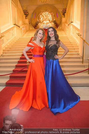 Silvesterball - Hofburg Wien - Mo 31.12.2018 - Monika BALLWEIN, Natalie ALISON9
