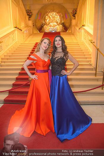 Silvesterball - Hofburg Wien - Mo 31.12.2018 - Monika BALLWEIN, Natalie ALISON11