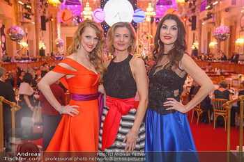 Silvesterball - Hofburg Wien - Mo 31.12.2018 - Monika BALLWEIN, Natalie ALISON, Alexandra KASZAY79