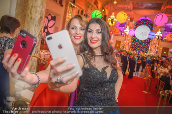 Silvesterball - Hofburg Wien - Mo 31.12.2018 - Monika BALLWEIN, Natalie ALISION80
