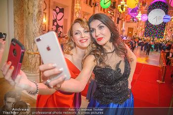 Silvesterball - Hofburg Wien - Mo 31.12.2018 - Monika BALLWEIN, Natalie ALISION83