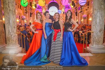 Silvesterball - Hofburg Wien - Mo 31.12.2018 - Natalie ALISION, Monika BALLWEIN, Alexandra KASZAY, Barbara HELF86