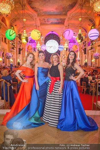 Silvesterball - Hofburg Wien - Mo 31.12.2018 - Natalie ALISION, Monika BALLWEIN, Alexandra KASZAY, Barbara HELF87
