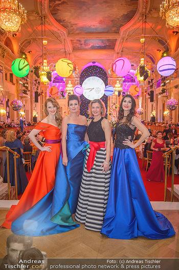Silvesterball - Hofburg Wien - Mo 31.12.2018 - Natalie ALISION, Monika BALLWEIN, Alexandra KASZAY, Barbara HELF88