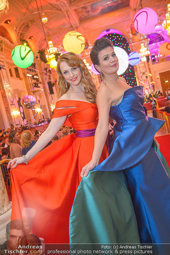 Silvesterball - Hofburg Wien - Mo 31.12.2018 - Natalie ALISON, Barbara HELFGOTT93