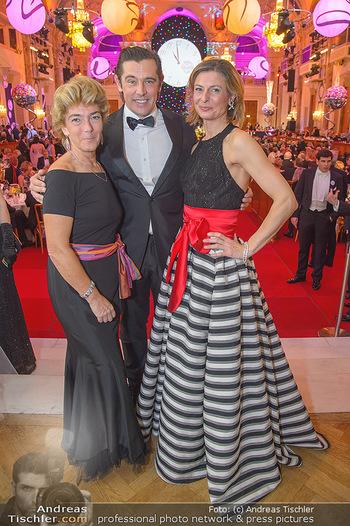 Silvesterball - Hofburg Wien - Mo 31.12.2018 - Monika SCHEINOST, Werner SCHREYER, Alexandra KASZAY245