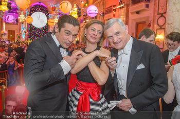 Silvesterball - Hofburg Wien - Mo 31.12.2018 - Werner SCHREYER, Alexandra KASZAY, Thomas SCHÄFER-ELMAYER247
