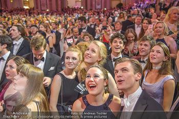 Silvesterball - Hofburg Wien - Mo 31.12.2018 - Gäste, Mitternacht, Feierlichkeiten284