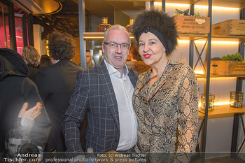 Restaurant Opening - Le Burger Rotenturmstraße, Wien - Di 08.01.2019 - Ernst Georg BERGER, Andrea BUDAY1