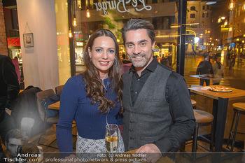 Restaurant Opening - Le Burger Rotenturmstraße, Wien - Di 08.01.2019 - Henrieta ZANONI, Andreas SEIDL5