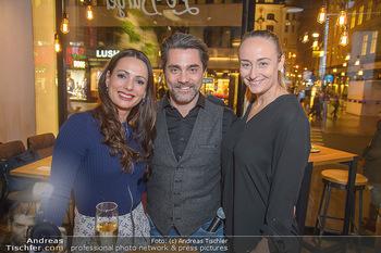 Restaurant Opening - Le Burger Rotenturmstraße, Wien - Di 08.01.2019 - Henrieta ZANONI, Andreas SEIDL mit Sina6