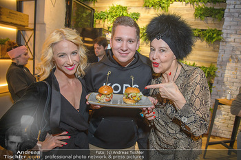 Restaurant Opening - Le Burger Rotenturmstraße, Wien - Di 08.01.2019 - Kathrin MENZINGER, Clemens TRISCHLER, Andrea BUDAY9