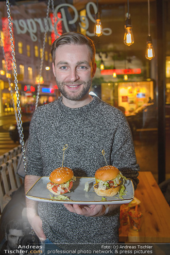 Restaurant Opening - Le Burger Rotenturmstraße, Wien - Di 08.01.2019 - JOSH11