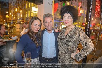 Restaurant Opening - Le Burger Rotenturmstraße, Wien - Di 08.01.2019 - Henrieta ZANONI, Martin LENIKUS, Andrea BUDAY23