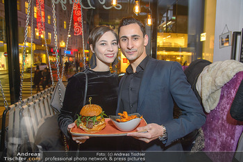 Restaurant Opening - Le Burger Rotenturmstraße, Wien - Di 08.01.2019 - Maria YAKOVLEVA, Richard SZABO33