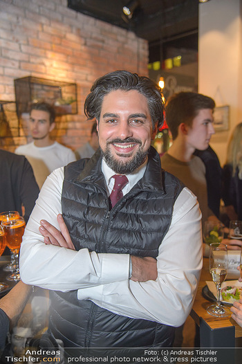 Restaurant Opening - Le Burger Rotenturmstraße, Wien - Di 08.01.2019 - Walid AZAK (Portrait)40