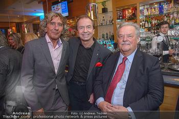 Jeanine Schiller Neujahrscocktail - Hilton am Stadtpark - Di 08.01.2019 - Toni REY, Heribert KASPER, Gerhard ERNST4