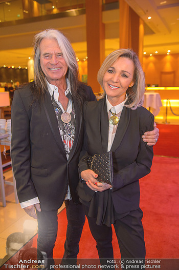 Jeanine Schiller Neujahrscocktail - Hilton am Stadtpark - Di 08.01.2019 - Waterloo Hansi KREUZMAYR mit Andrea7
