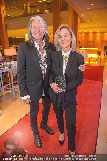 Jeanine Schiller Neujahrscocktail - Hilton am Stadtpark - Di 08.01.2019 - Waterloo Hansi KREUZMAYR mit Andrea8