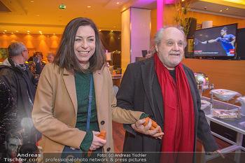 Jeanine Schiller Neujahrscocktail - Hilton am Stadtpark - Di 08.01.2019 - Paulus MANKER, Elisabeth AUER20