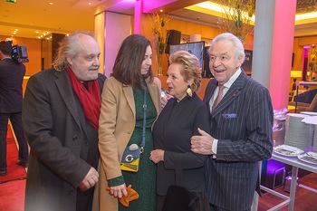 Jeanine Schiller Neujahrscocktail - Hilton am Stadtpark - Di 08.01.2019 - Paulus MANKER, Elisabeth AUER, Harald und Ingeborg SERAFIN29