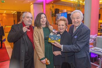 Jeanine Schiller Neujahrscocktail - Hilton am Stadtpark - Di 08.01.2019 - Paulus MANKER, Elisabeth AUER, Harald und Ingeborg SERAFIN30