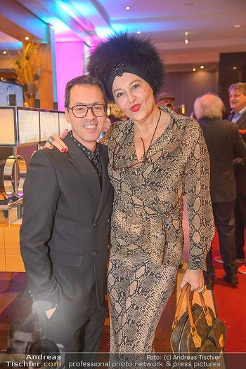 Jeanine Schiller Neujahrscocktail - Hilton am Stadtpark - Di 08.01.2019 - Thang DE HOO, Andrea BUDAY49
