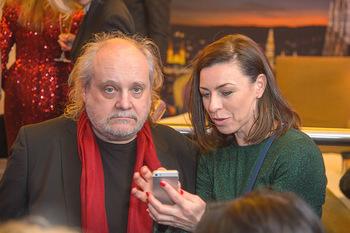 Jeanine Schiller Neujahrscocktail - Hilton am Stadtpark - Di 08.01.2019 - Paulus MANKER, Elisabeth AUER61