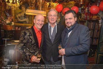 Künstler Neujahrsempfang - Marchfelderhof - Mi 09.01.2019 - Andy LEE LANG, Peter HOFBAUER, Werner AUER9